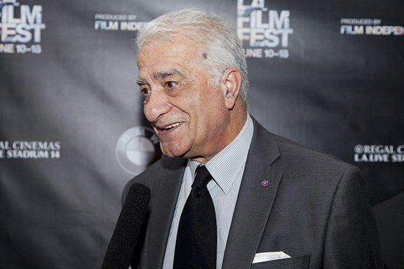 Levon Sharafyan at the Los Angeles Film Festival in 2015