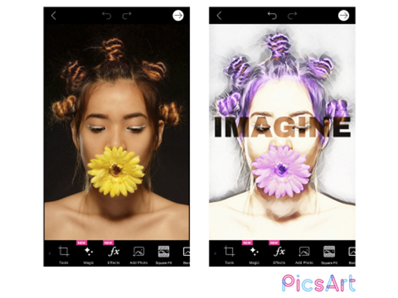"""PicsArt launched the world's first fully customizable, AI-powered """"Magic"""" photo and video Effects app"""
