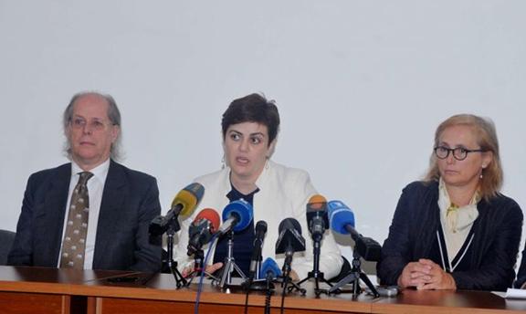 Experts discuss the establishment of a monument restoration center in Armenia on Thursday, September 29, 2016 (Photo: Armenpress)