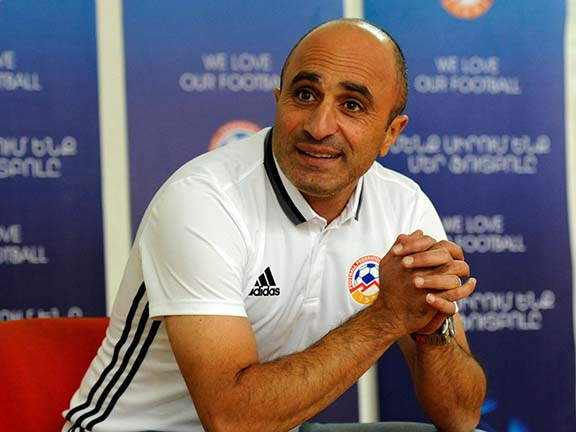 Artur Petrosyan has been appointed head coach of the Armenian National Team (Photo: ffa.am)