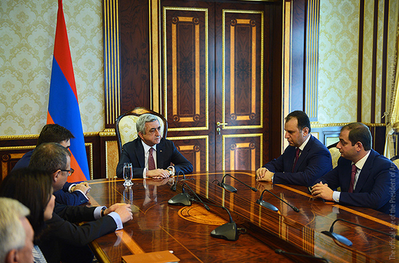 President Sarkisian announces appointment of Presidential Administration (Photo: president.am)