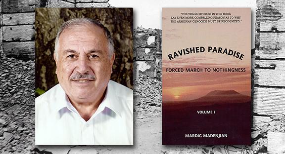 Ravished Paradise by author Mardig Madenjian (Source: PasadenaNow.com)