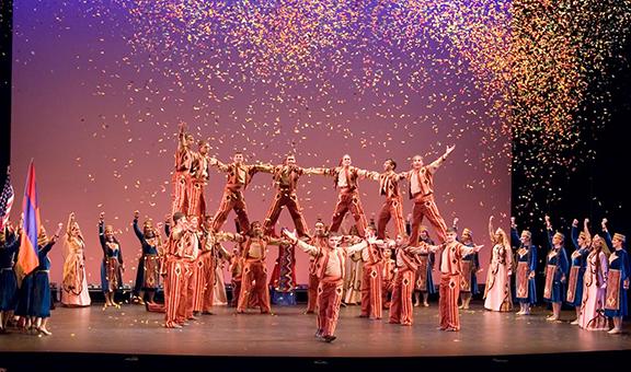 Sayat Nova Dance Company performance