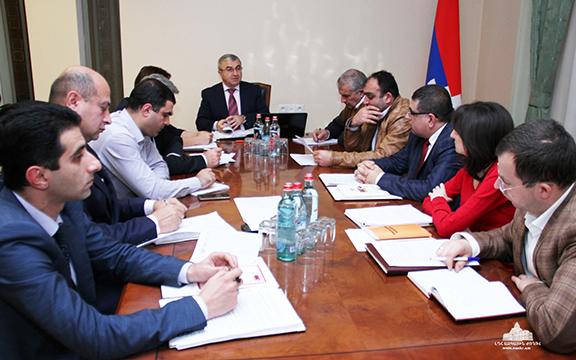 Nagorno-Karabakh Republic Parliament Speaker Ashot Ghulyan unveils Artsakh's draft constitution