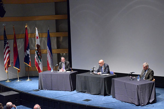 Panelists at AGBU Asbeds 'Evening With A Scholar'