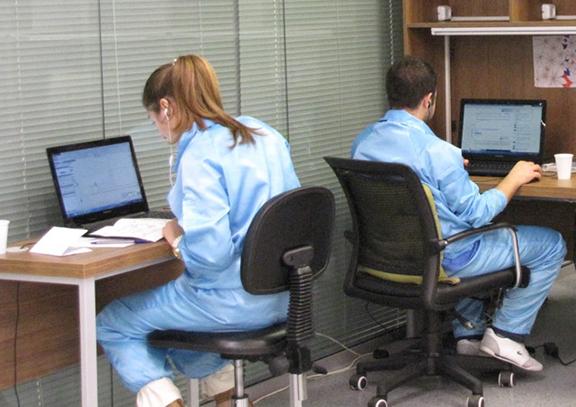 TSD engineers at work