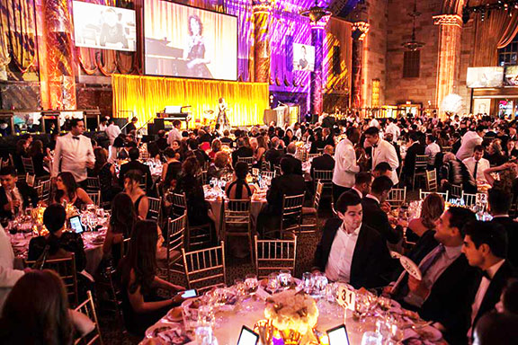 A scene from the Gala