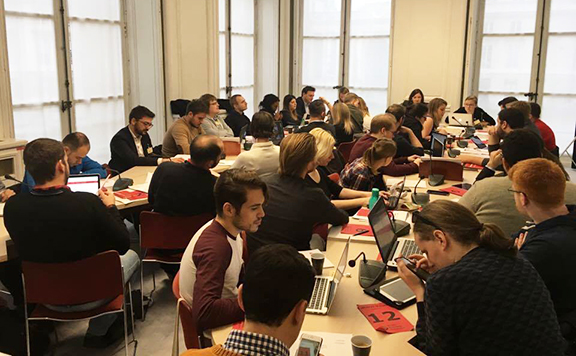 The AYF participated in the Young European Socialist (YES) Bureau meeting at the YES's headquarters in Paris from Nov. 25-27