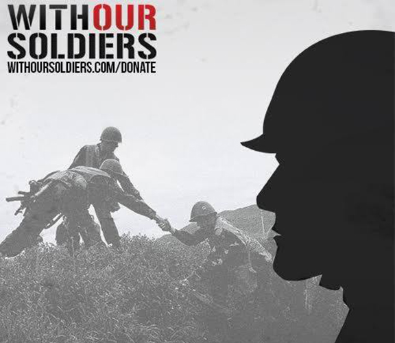 AYF's 'With Our Soldiers' campaign