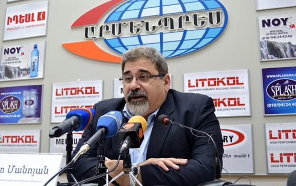 Giro Manoyan, Director of the International Secretariat of the Armenian Revolutionary Federation (ARF-D) Bureau (Photo: Armenpress)
