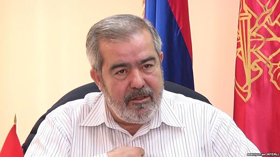 ARF Bureau chairperson, Hrant Markarian (Photo: RFE/RL)