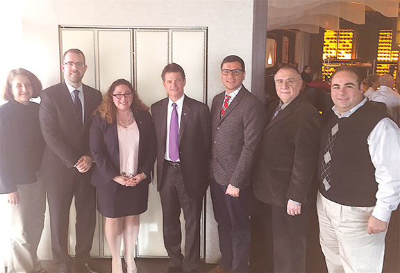 Rep. David Trott (center) with ANC of MI and community activists and Knox Thames, Special Advisor to the Secretary of State for Religious Minorities in the Near East.  In March, 2016, Rep. Trott facilitated a community meeting with Mr. Thames to discuss the plight of Armenian and other Christian communities in the Middle East.