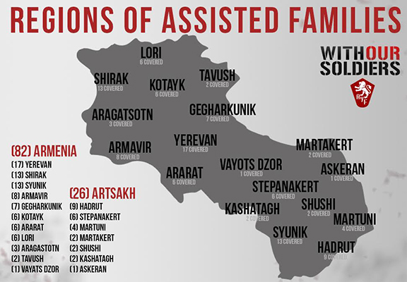 Regions of assisted families