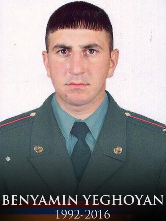 Benyamin (Monte) Yeghoyan, fallen soldier