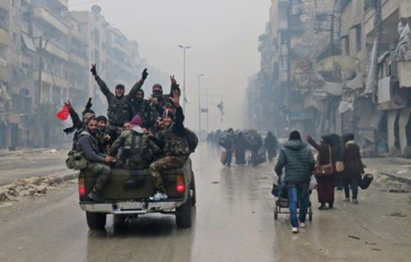 Celebrating Syrians