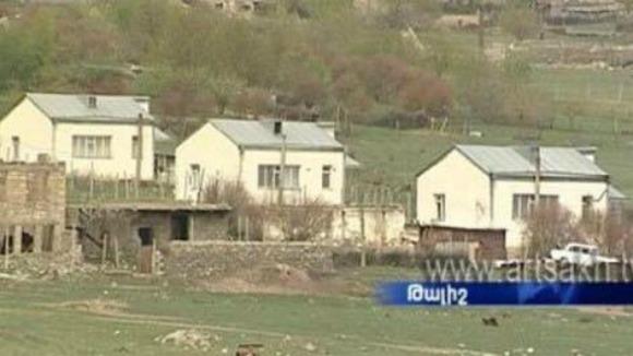 Talish homes (Photo: Screenshot/Artsakh TV)