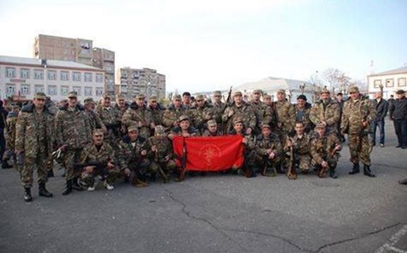 Members of the ARF reserve brigade (Photo: Aparaj)
