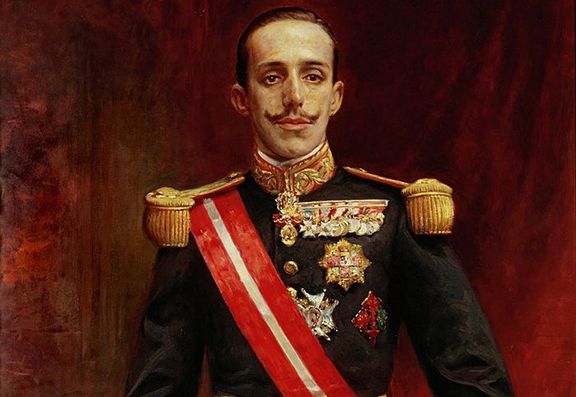 Former King of Spain, Alfonso XIII (Image: ArmRadio)