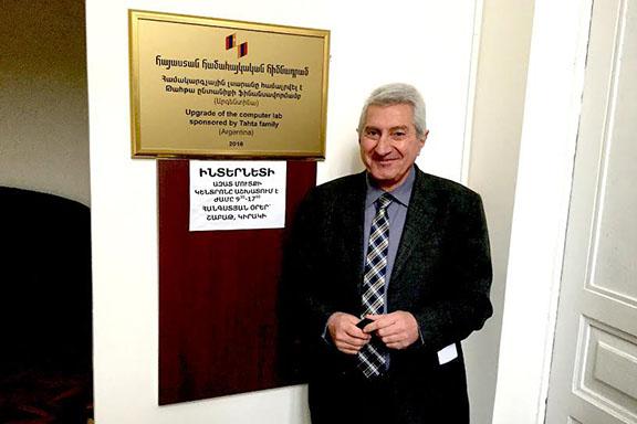 Hovsep Tahta, Argentinean-Armenian benefactor