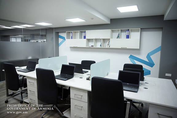 Equipment at the Center for Strategic Initiatives of the Government of Armenia