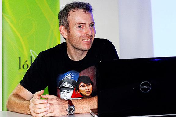 Israeli-Russian blogger, Alexander Lapshin (Photo: Alexander Lapshin Facebook Page)