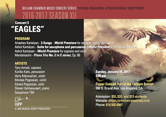"""Eagle,"" A Lark Musical Society Production"
