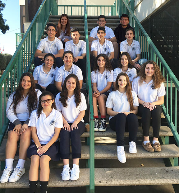 Fifteen students from Ferrahian High School will travel to Japan to take part in a Model United Nations conference.