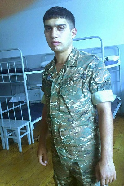 Armenian serviceman Garik Vardanyan (born in 1996), who was severely wounded by Azerbaijani fire on Dec. 20, 2016, succumbed to his wounds Sunday evening.