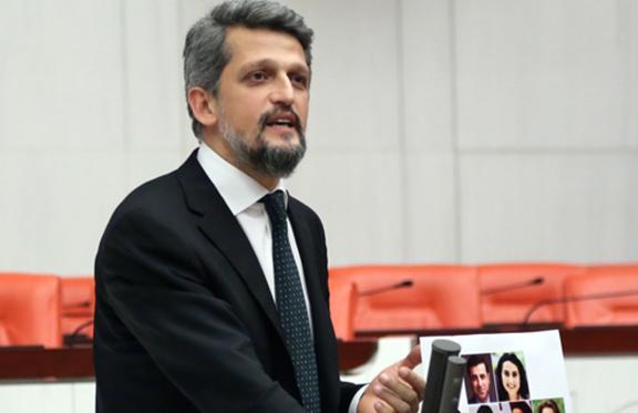 Garo Paylan speaking during a Turkish Parliamentary session (Source: Agos)