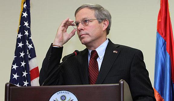 Former U.S. Ambassador to Armenia John Heffern (Photo: Photolure)