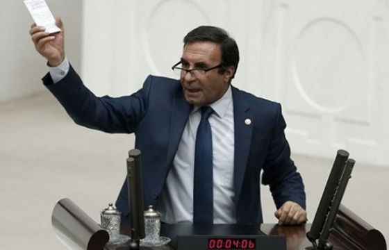 Peoples' Democratic Party (HDP) Member of Parliament, Mehmet Adıyaman (Source: Agos)