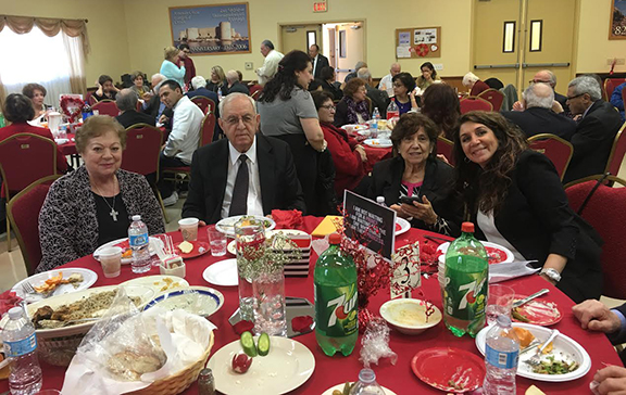 The Armenian Cilicia Evangelical Church of Pasadena, Calif. organized a luncheon to raise funds for families of soldiers who lost their lives defending the borders of Artsakh and Armenia.