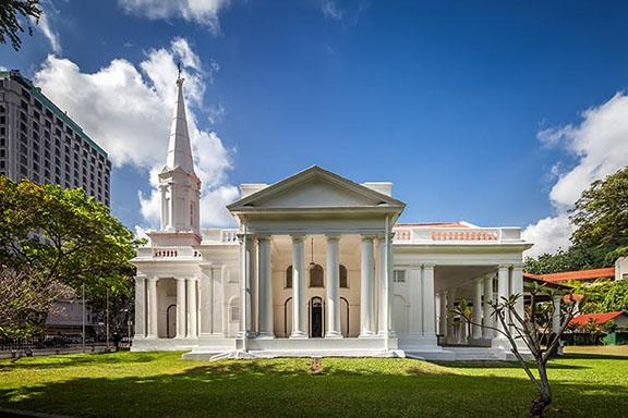 The Armenian Church, the first-ever Christian Church built in Singapore