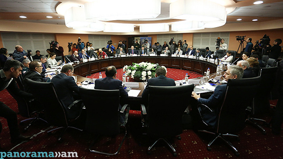 Artsakh Conflict International Conference takes place in Yerevan on Feb. 15, 2017 (Photo: Panorama.am)