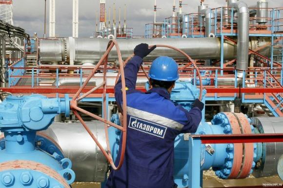 Gazprom worker (Photo: novosti.ru)
