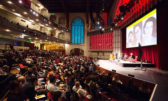 A scene from the USC event on January 29