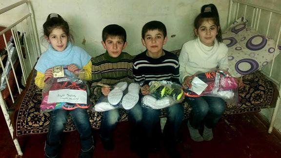 Kids of Karabakh donates gifts to children