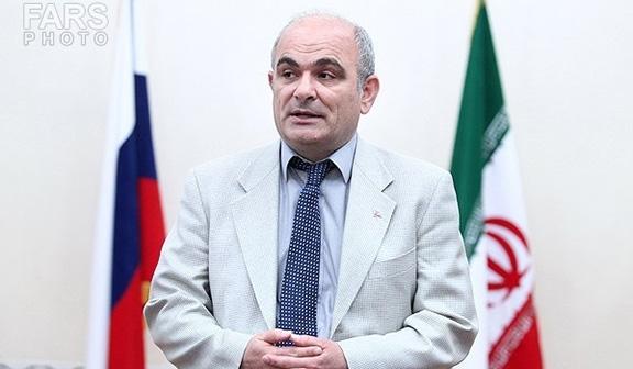 Russian Ambassador to Iran, Levan Dzhagaryan (Photo: Fars News Agency)