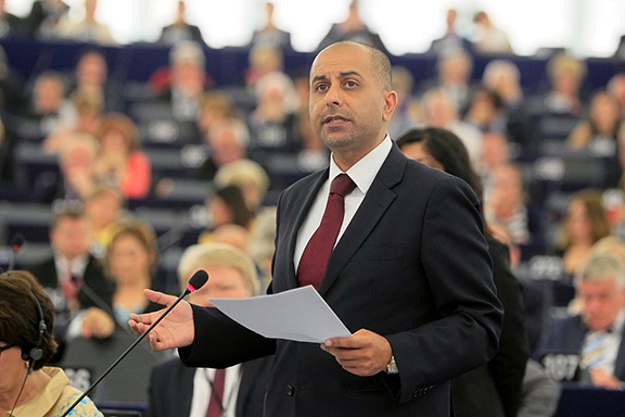 Member of European Parliament Sajjad Karim (Photo: YouTube Screenshot/European Conservatives and Reformists)