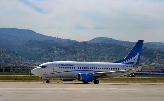 Air Armenia boards 80 passengers on direct flight from Yerevan to Beirut (Photo: Aircompany Armenia/Facebook)