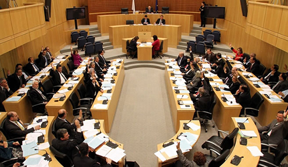Plenary meeting of Cyprus' House of Representatives (Photo: Parliament of Cyprus)