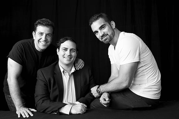 Motiv startup team (From left to right) Ara Soudjian, Diran Yanikian, and Anthony Wiktor