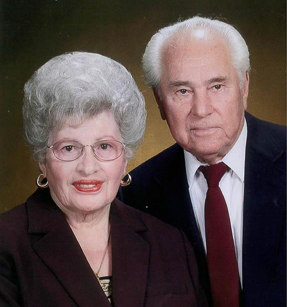 Hovhannes Megrdichian (right) and his wife Mariam Megrdichian