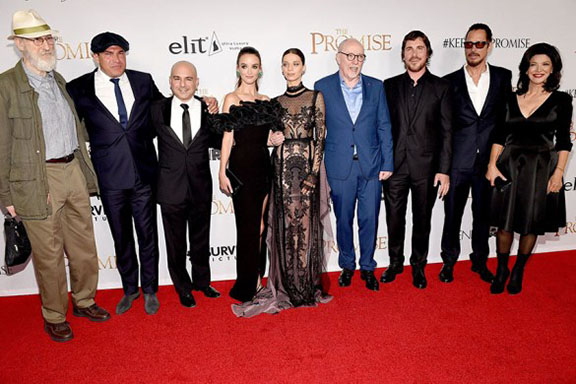 """The cast and the director of  """"The Promise"""""""