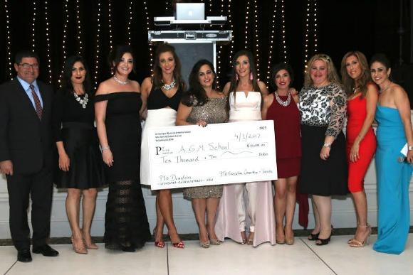 Ari Guiragos Minassian's Parent Teacher Organization donated $10,000 to the school.