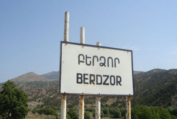 Entering Berdzor, formerly known as Lachin, which was liberated 25 years ago  on May 18