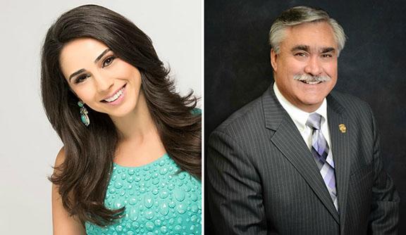 TV anchor Araksya Karapetyan and Burbank City Council member Jess Talamantes will be honored at the annual ANCA-Burbank banquet on May 21, 2017