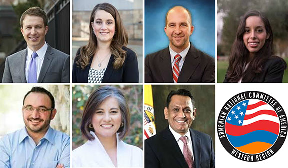 The Armenian National Committee of America--Western Region congratulates and commends candidates in LA municipal elections