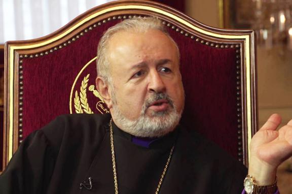 Istanbul Patriarchate Archbishop Aram Ateshian (Source: Tert.am)