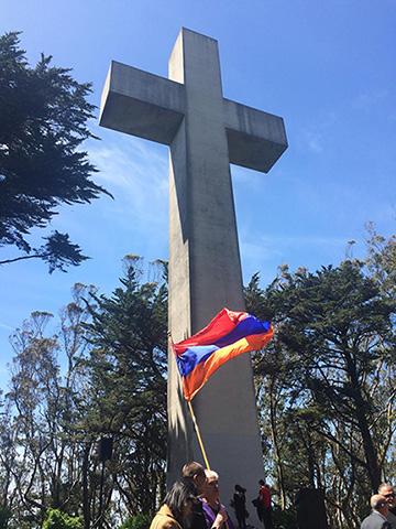 Mount Davidson cross in San Francisco